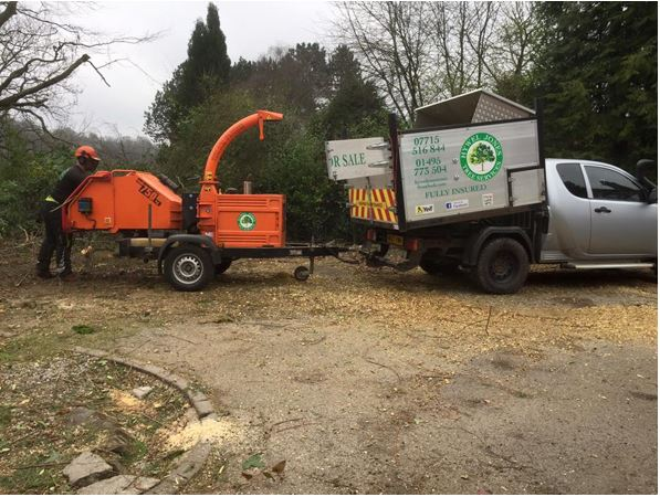 Hwyel Jones Wood Chipper Hire